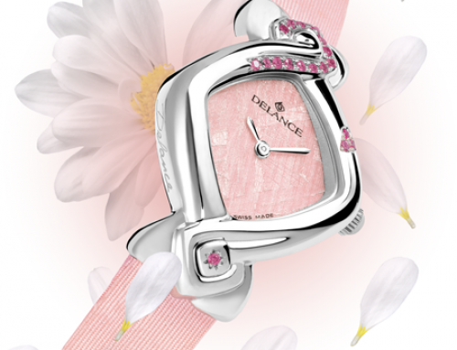 A Delance watch for Valentine Day : A symbol says more than a thousand words