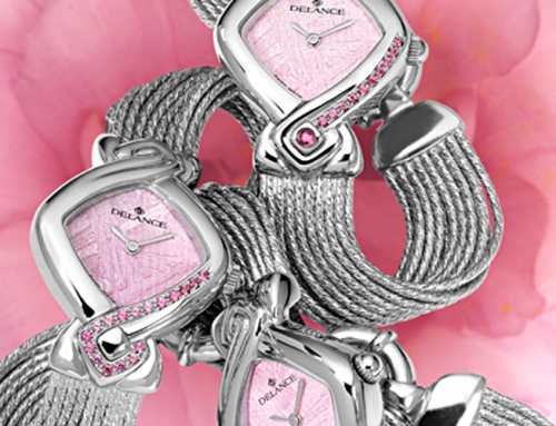 Press release : DELANCE, the creator of the personalized timepiece for women