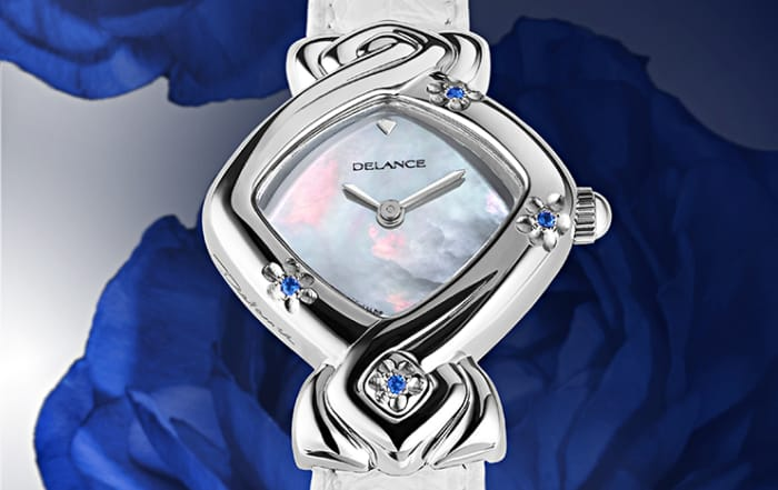 The watch for the bride: Edelweiss: with sapphires